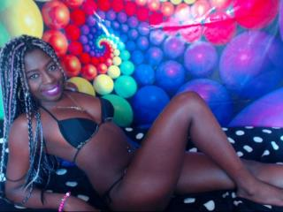 Tatihornyy - Web cam hard with this dark-skinned Sexy babes