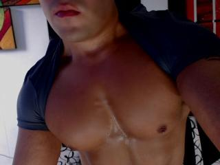 Picture of the sexy profile of AndrewLawren, for a very hot webcam live show !