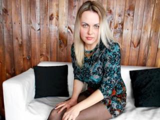 Foto de perfil sexi, da modelo MelinaAmber, para um live show webcam muito quente!