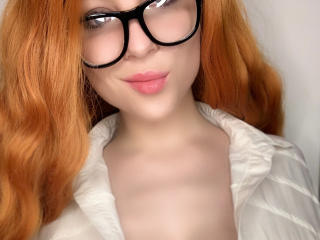 Picture of the sexy profile of ClaireCream, for a very hot webcam live show !