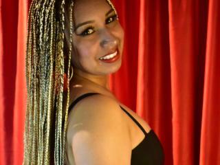 Photo de profil sexy du modèle ShamaraLuxury, pour un live show webcam très hot !