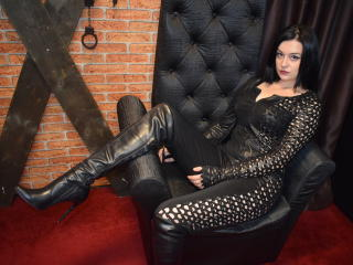 Picture of the sexy profile of Godesss, for a very hot webcam live show !