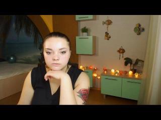 Foto del profilo sexy della modella ErinQuenn, per uno show live webcam molto piccante!