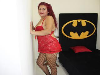 Photo de profil sexy du modèle SamanthaNaughtyX, pour un live show webcam très hot !